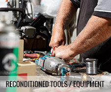 reconditioned tools / equipment